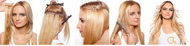 Крепление волос