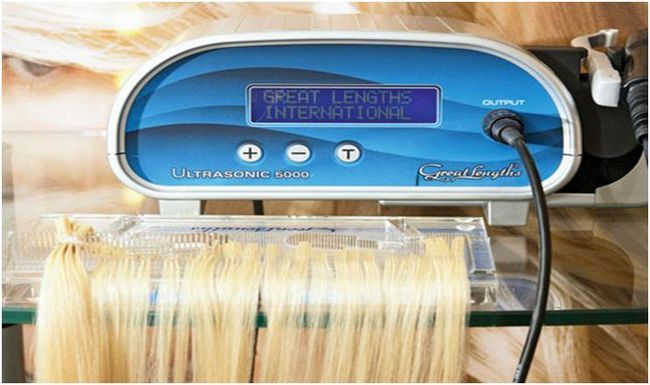 Аппарат для склеивания волос для наращивания