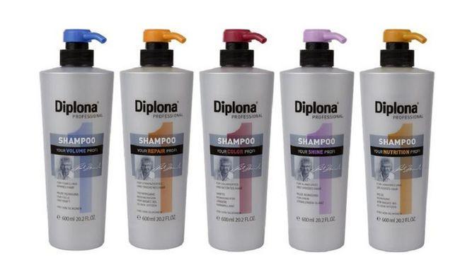 5 эффективных средств для волос от компании Diplona