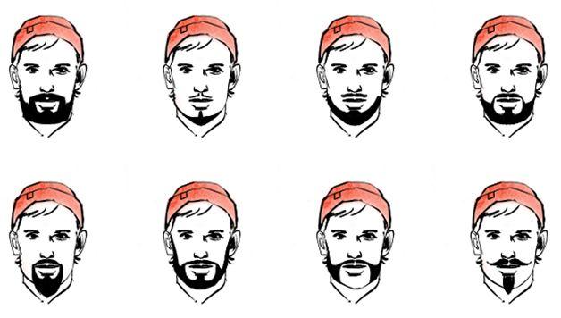 Фигурная стрижка бороды