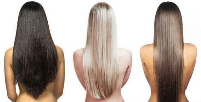 восстановленные волосы