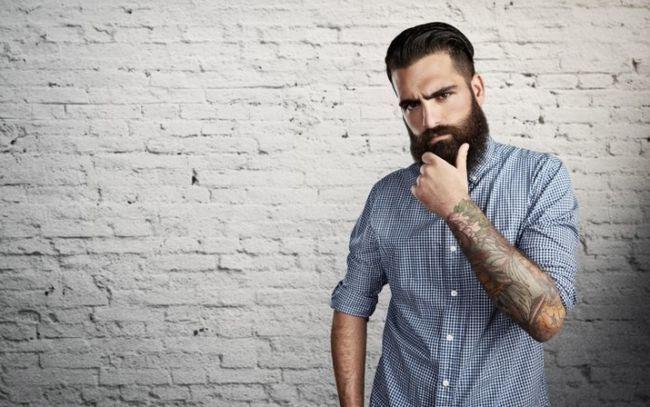 Как сделать укладку бороды