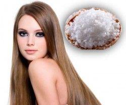 Действенный способ избежать выпадения волос – регулярное применение соляных масок