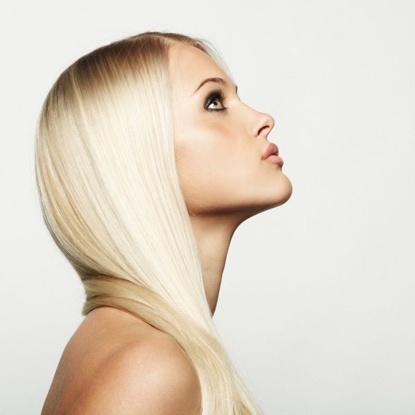 Девушки блондинки с красивыми и сексуальными волосами. Более 100 фото