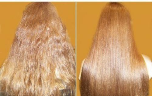 Домашнее ламинирование волос желатином.