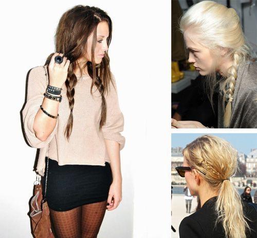 Модные косы 2013 года