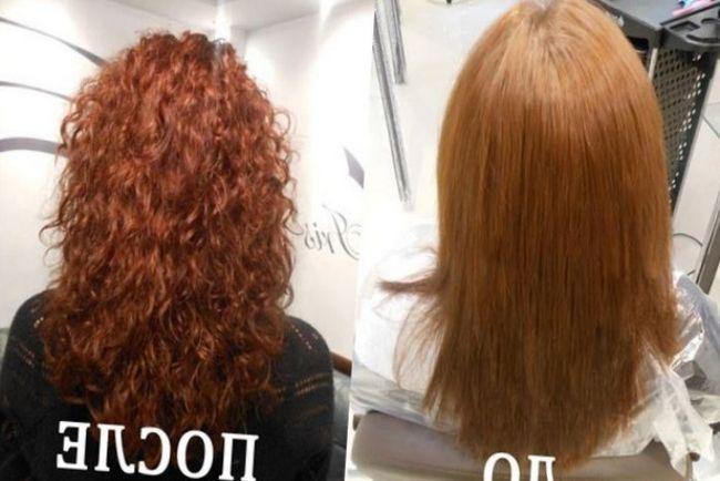 Легкая химическая завивка на средние волосы - Карвинг или легкая химия на средние волосы фото средних