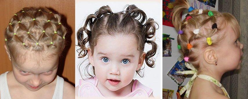 Идеи для причесок на короткие волосы для девочки