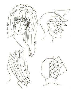 Индивидуальное моделирование стрижки «дебют»