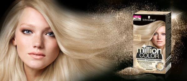 Million Color -Schwarzkopf-ultrablond