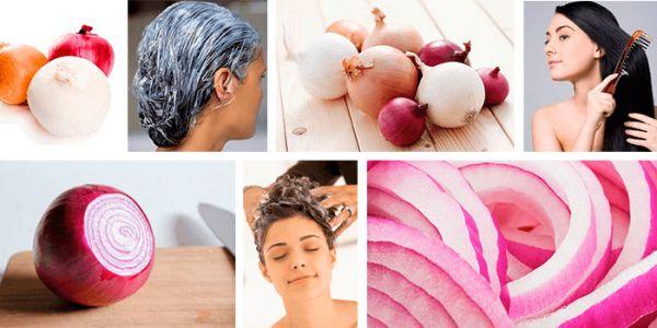 Эффект от луковых масок против выпадения волос