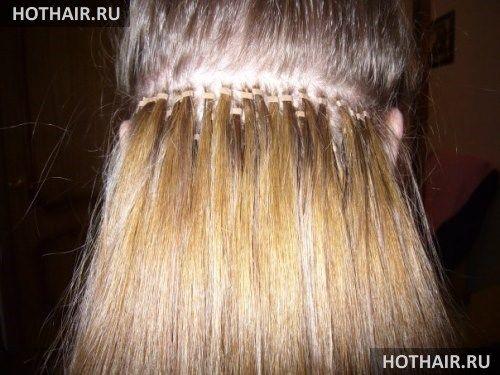 Южно-корейское наращивание волос