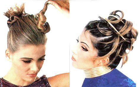 Модные молодежные вечерние прически для длинных и средних волос
