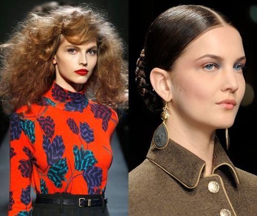 Модные причёски осень-зима 2013-2014 (фото): какие прически самые модные в 2014 году?