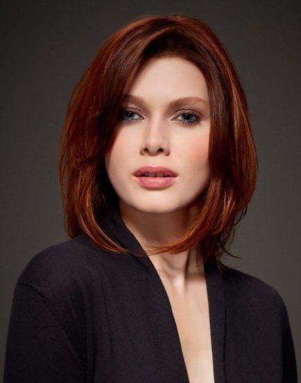 Какую выбрать прическу на средние волосы с челкой