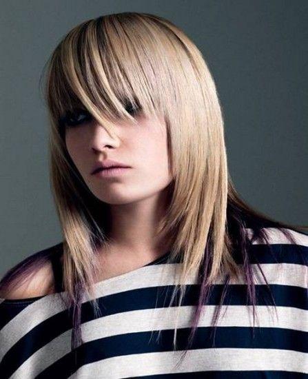 Выпрямление на средние волосы