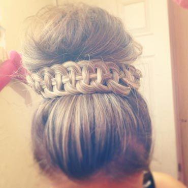 Кельтская четырехпрядная коса