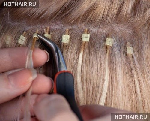 китайское наращивание волос