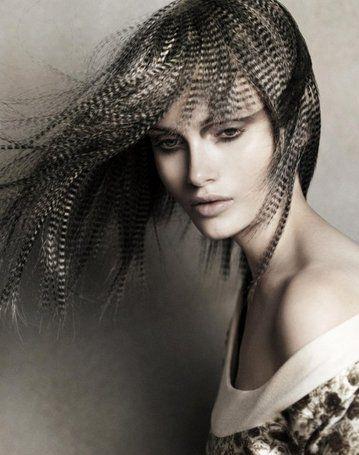 Коллекция трафаретного окрашивания волос от трейвора сорби (trevor sorbie)