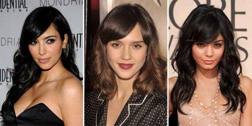 Голливудские звезды, выбравшие косую челку