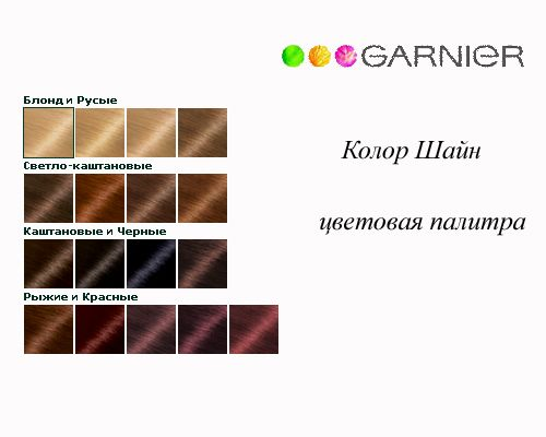 Garnier-Color-Shine-palitra