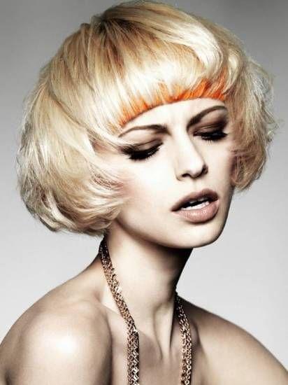 Креативные стрижки на волосах средний длины – настоящий полет фантазии