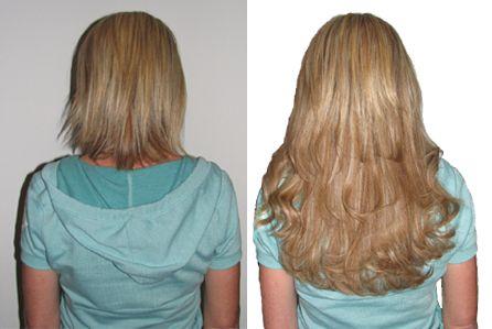 Ленточное наращивание волос hair talk