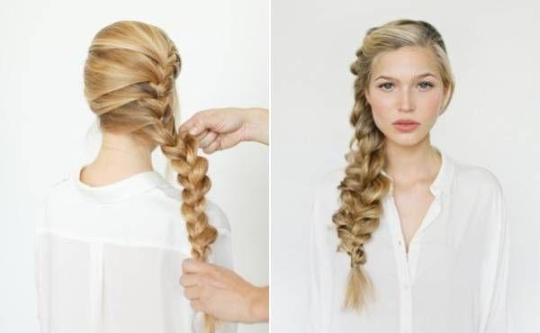 Мастер-класс: богемная коса. Прическа в романтическом стиле