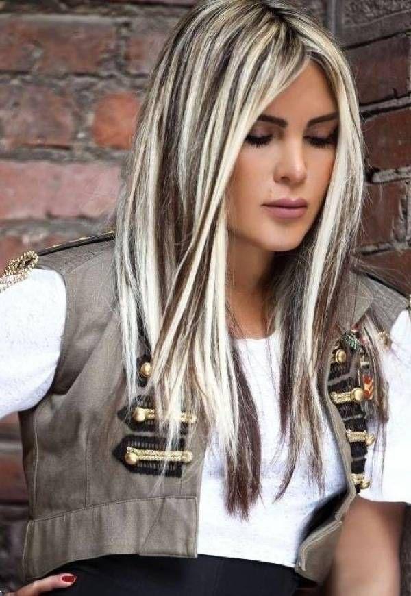 Модное мелирование волос в 2014 году. Много фото