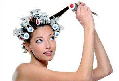 Меняем образ завивкой волос