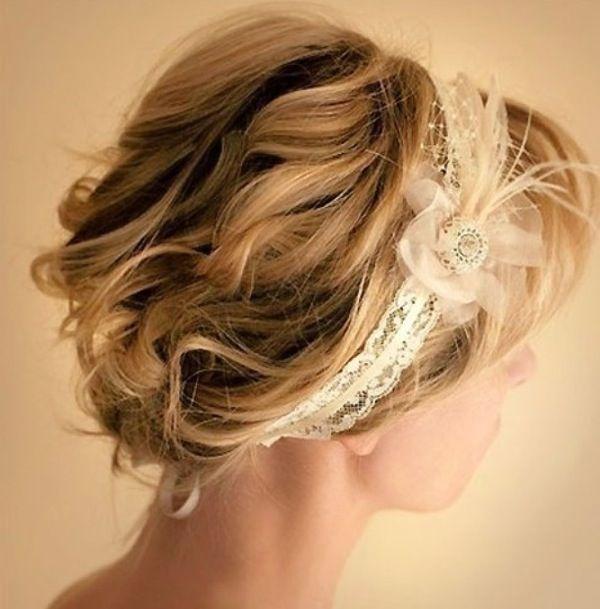 Модные и актуальные свадебные прически на короткие волосы. Фото и советы