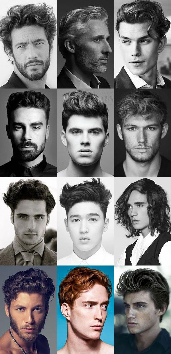 Модные мужские причёски 2015 на волнистые волосы
