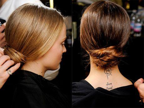Модные прически осень 2012 от Dolce & Gabbana (3)