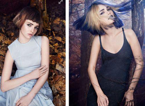 Модные стрижки 2015 на средние волосы
