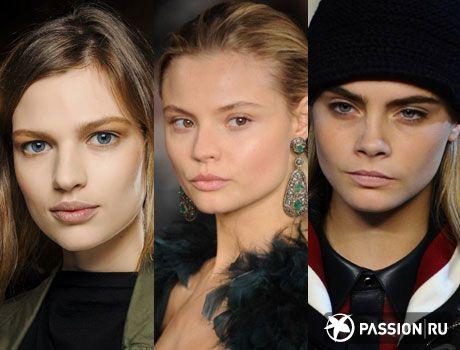 Модный макияж осени-зимы 2013-2014