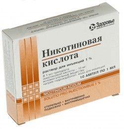 Никотиновая кислота – витамин для интенсивного роста волос