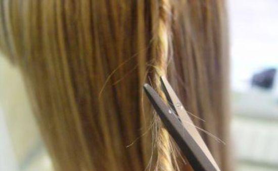 Оздоровительная стрижка жгутиками