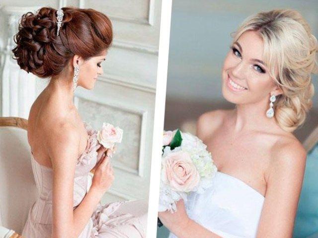 Свадебные прически для длинных волос, иногда имеют свойство быть обычными, тем не менее, эти прически выглядят красиво. Но некоторым, всё же кажется,