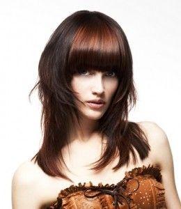 стрижки 2012-2013 на длинные волосы модные женские фото