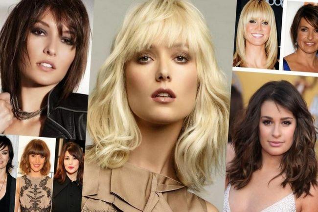 Модные тренд этого сезона небрежная натуральность, прямые распущенные волосы с пробором посередине или с боку