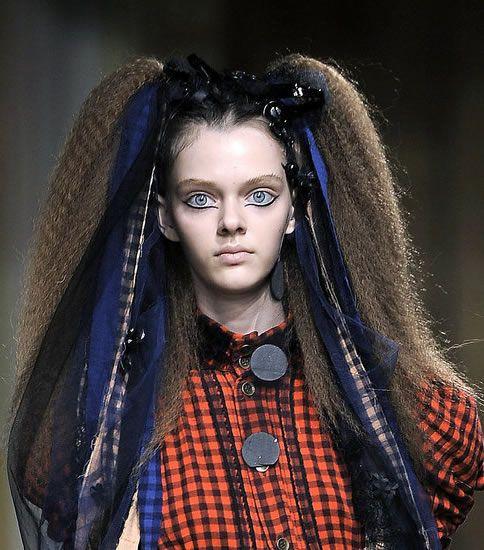 Прически гофре для волос фото