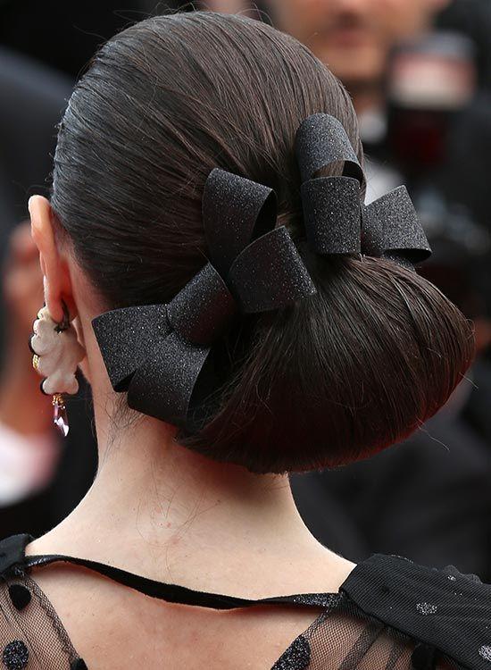 Пучки для волос с лентами фото и видео уроки