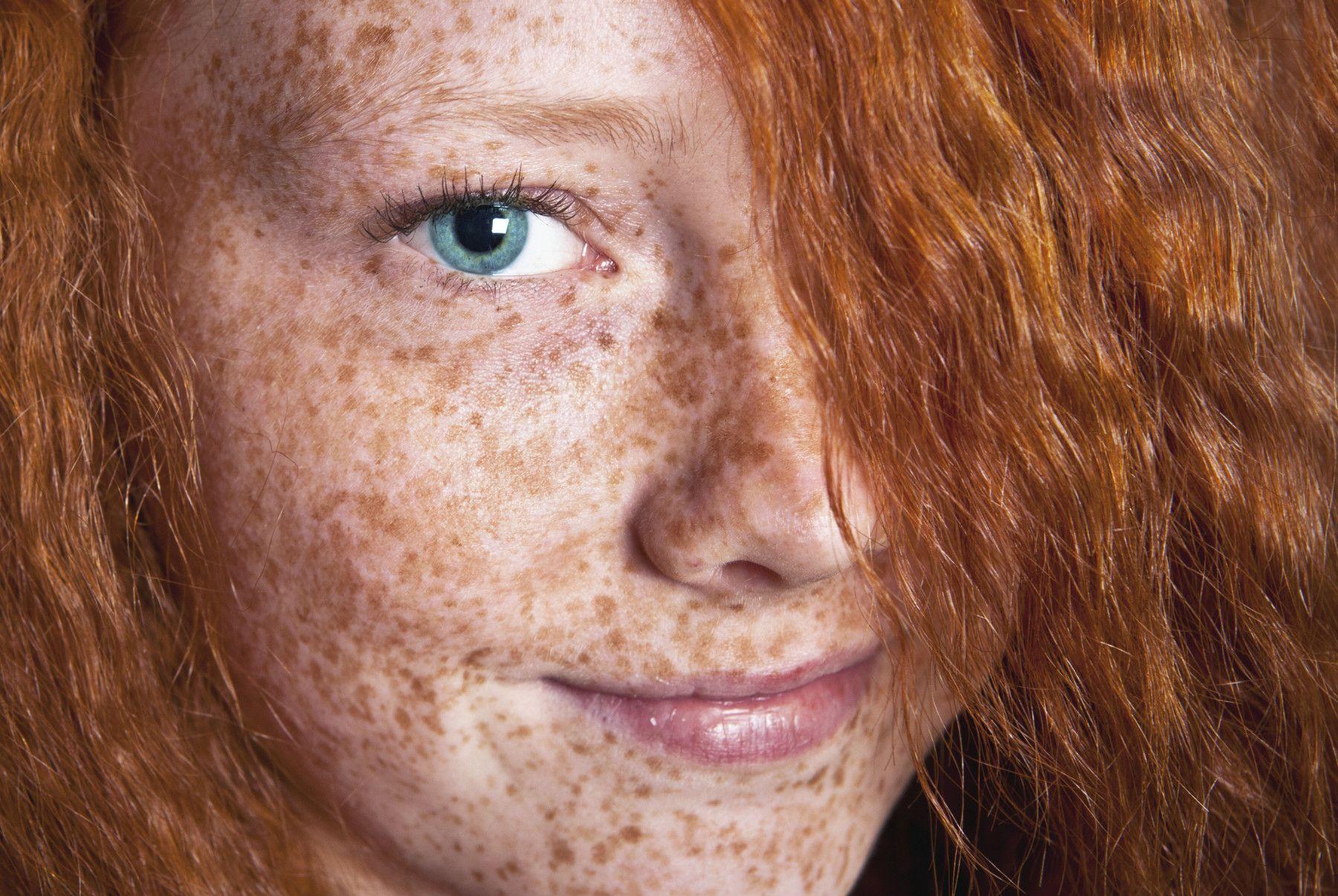 Рыжие волосы и все о них.