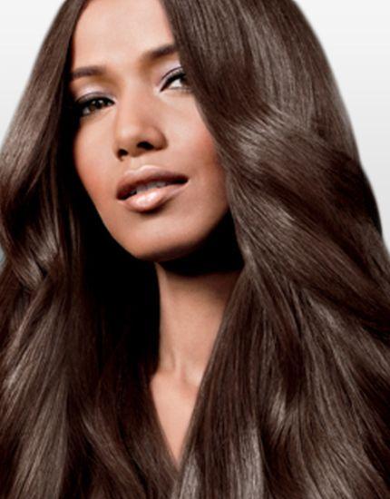Шатенка – характеристики цвета волос
