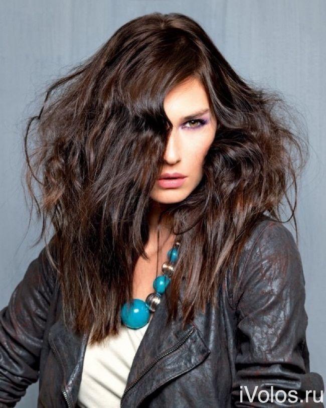 Шоколадный цвет волос не выходит из моды и в 2016: фото и советы. Часть 1
