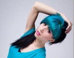 Современное окрашивание волос двумя цветами