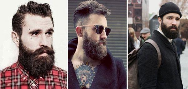 классическая стрижка бороды