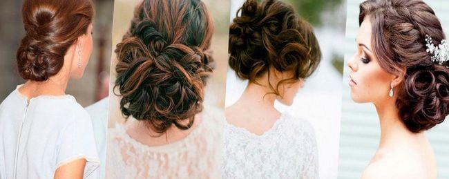 Свадебные прически на такую длину самые разнообразные, поскольку волосы можно и распустить, и собрать в модный «пучок» или косы.