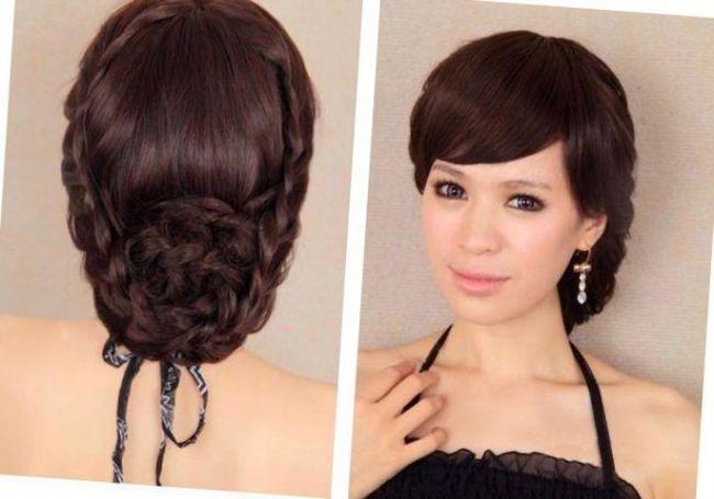 Обладательницам длинных роскошных волос повезло больше, поскольку в мире моды придуманы тысячи великолепных идей для свадебной прически, а что же делать