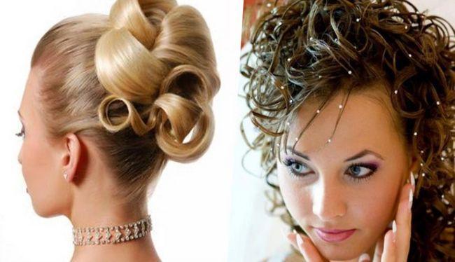 Выбор свадебных причесок с фатой на средние волосы является самым большим. В последние годы популярными стали распущенные волосы, красиво уложенные или